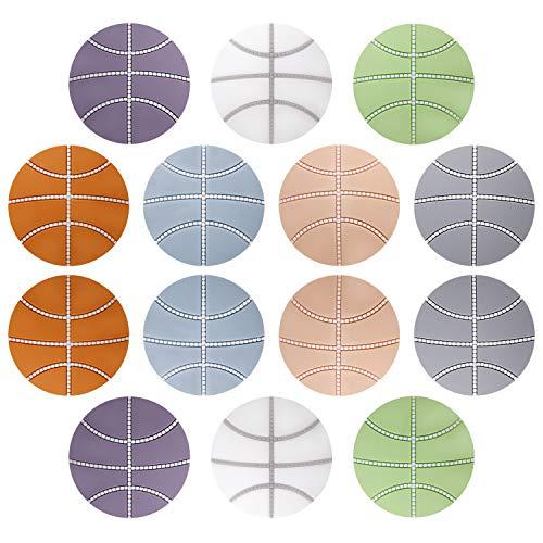 Topes de Puerta Silicona Protectores de Pared Autoadhesivo Puerta Parachoques Tapón Ideales para Dormitorio, Baño, Mueble, Cajones y Más 14 Piezas (Multicolor)