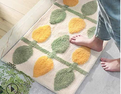 Ciuitixi - Alfombrilla de baño, lavable a máquina, absorbente, antideslizante, alfombra de baño antideslizante con látex antideslizante, para cocina, baño