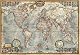 Educa-El Mundo, mapa político Miniature Puzzle, 1000 Piezas, multicolor (16764)