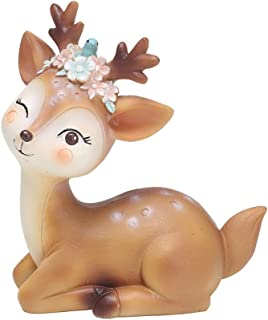 L.DONG Deer Figurines Toys Decor 4.1