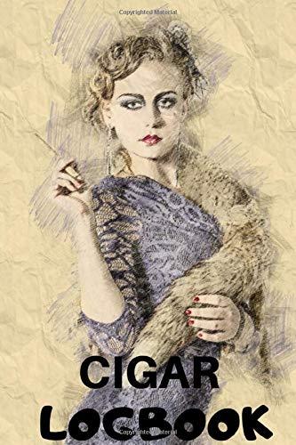CIGAR LOGBOOK: The Smoker Book For Connoisseurs who love Smoke Cigars / The Perfect Pharaoh Gift cigar For cuban Aficionado / 6 x 9 paperback guitar