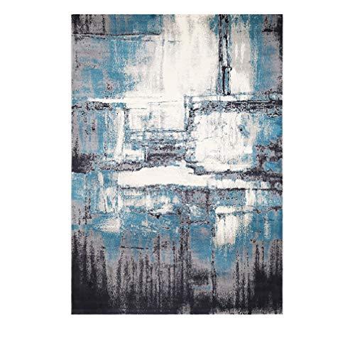JLA Teppich, Schlafzimmer Tisch Im Nordischen Stil, Polypropylen-Twist, Couchtisch-Matte Multicolor-Mischung 0,8 * 1,2 M, 0,8 * 1,5 M,0.8 * 1.2M