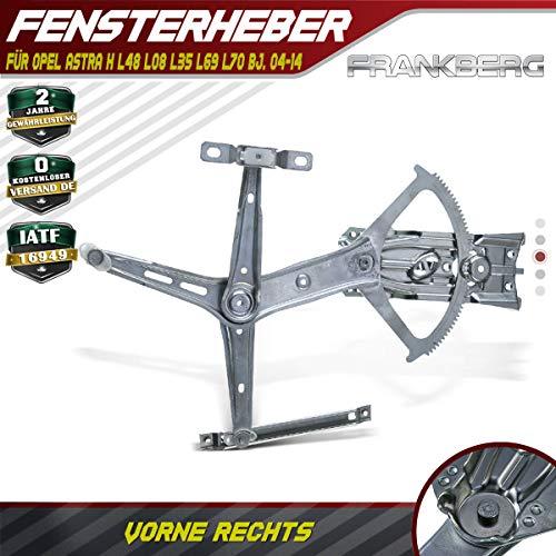 Frankberg Fensterheber Elektrisch Vorne Rechts für Astra H L48 L08 L35 L69 L70 2004-2014 93178696