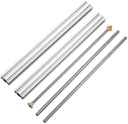 Genmitsu kit de extensión del eje Y del 3018, actualización de los accesorios del 3018 al 3040, compatible con la mayoría de las fresadoras CNC 3018, 3018-PROVer/3018-PROVer Mach3