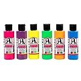 Monalisa set colori acrilici (neon) 6x70 ml. per dipingere su legno, pietra e tela, per bambini, adulti, pittori per hobby e studenti…