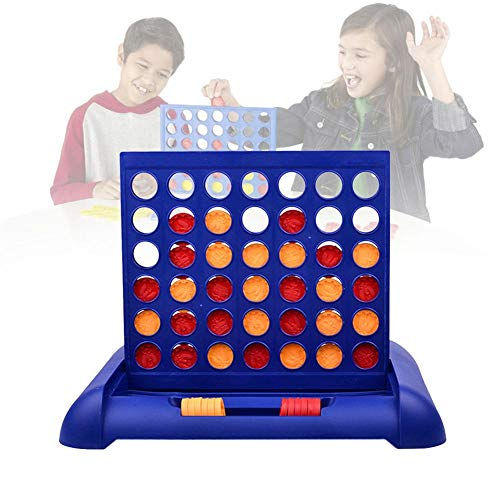 MezoJaoie Connect Four In A Row Toys, 4 Game For Kids - Connect Four Game, For Quarto Connect 4 Pieces Classic Grid Bordspel Sports Entertainment Toys