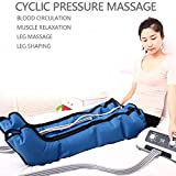 ZWPY Leg Massager for Circulation, Foot and Leg Massager, Pressure and time Easy to Set with for Thighs Calf Legs and Feet Massage