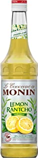 MONIN Lemon Rantcho Syrup, Balance of Fresh Lemon and Lime, Great for Cocktails and Fruit Punch, Gluten-Free, Vegan, Non-G...