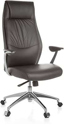 hjh OFFICE Murano 20 Silla de Oficina, Crema, 52.0x59.0x133 ...