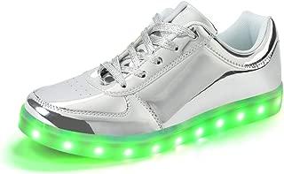 Zapatos De Beb/é Ni/ñO Ni/ñA,ZARLLE Led Luz Luminosas Flash Zapatos Zapatillas De Deporte Zapatos De Beb/é Antideslizante Botas Ni/ñA Flor Cristal Zapatos con Cremallera