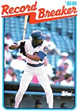 Baseball MLB 1989 Topps #4 Andre Dawson RB Cubs