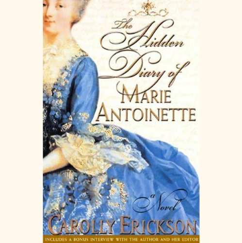 The Hidden Diary of Marie Antoinette audiobook cover art