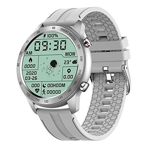 ZGNB MX5 Smart Watch, Chiamata Bluetooth, Riproduzione Musicale MTE, IP68 Impermeabile, Monitor per La Pressione Sanguigna, Fai da Te Smartwatch PK TK88 per Android iOS,F