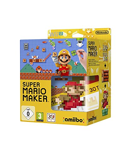 Super Mario Maker + Artbook + Amiibo Limited Edition WII U