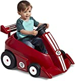 Radio Flyer Grow with Me Racer Children's Powered Ride Ons, Red
