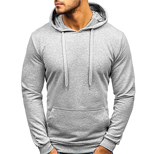 ZYUD Men's Sports Stretch Hooded Sweatshirt Comfortable Hoody Slim Fit Fitness Hoody Gym Hoodie Long Sleeve Basic Hoodie Gym Sports Long Sleeve Shirts Sweatshirt Sport Outwear Hoody Casual Tops