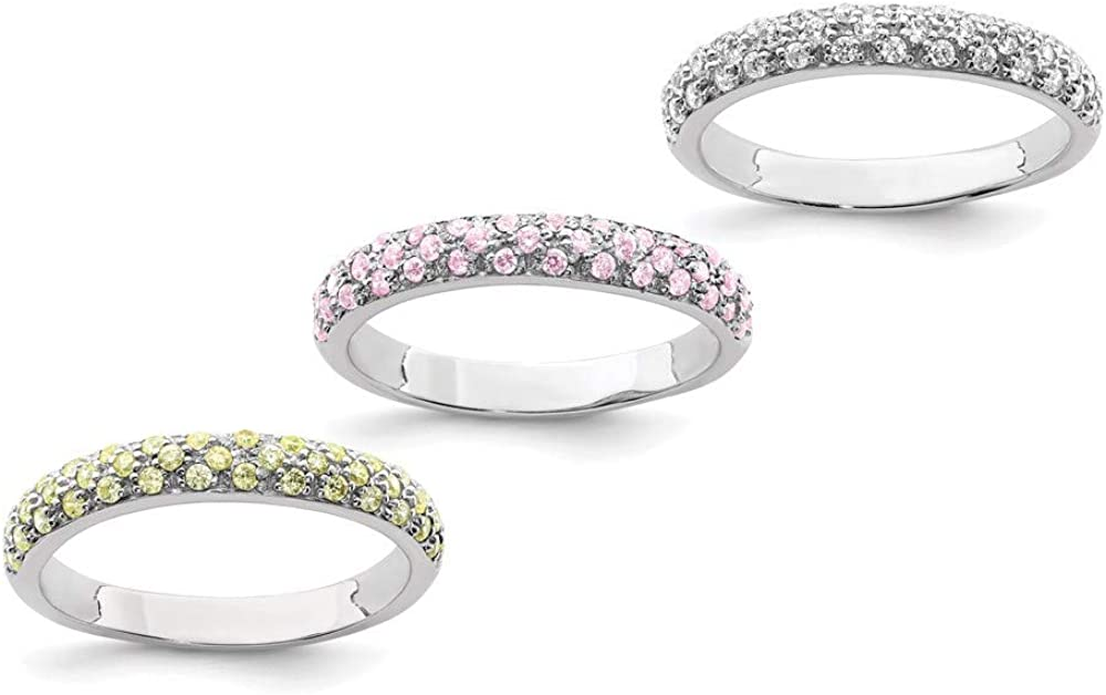 Ryan Jonathan Fine Jewelry Sterling Silver Cubic R Ranking TOP10 Zirconia Popular products with