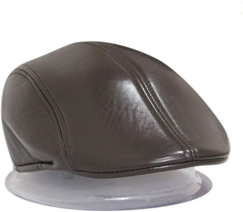 Beach Hat Winter Spring Autumn Duckbill Ivy Cap Driving Flat Cabbie Newsboy Beret Hat for Men and Women Summer Sun Hat (color   Brown)