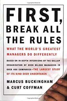 Cover image of First, Break All the Rules