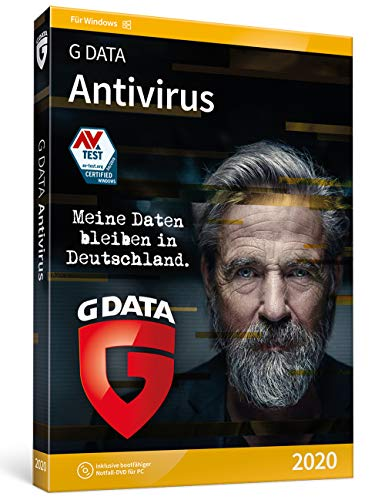 G DATA Antivirus   3 PCs - 1 Jahr