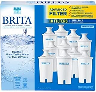 Brita Replacement Water Filters 10 Pack Pitcher Filter Britta Biritta Birita