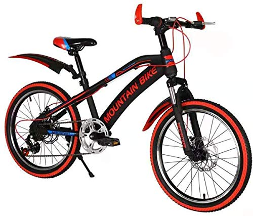Amazing Deal HongLianRiven BMX 20 Inch Mountain Bike Bicycle with Fork Suspension Shock Absorption V...