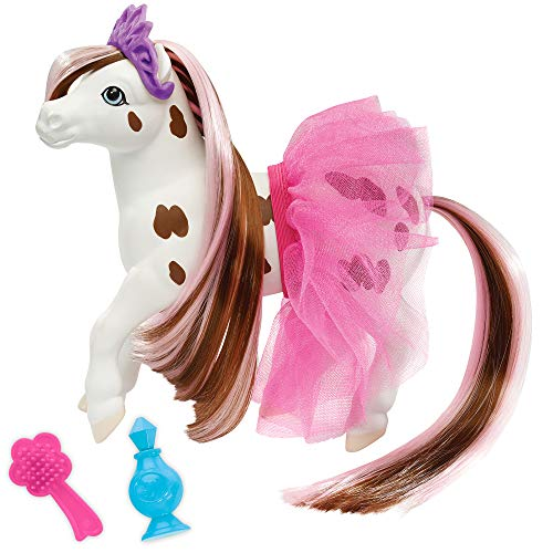 Breyer Horses Color Changing Bath Toy | Blossum The Ballerina Horse | Brown/ White with Surprise Pink Color | 7' X 7.5' | Horse Toy | Ages 2+ | Model #7231