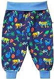 Piccalilly - Pantalón de bebé con Parte Superior Enrollable, diseño de Animal Multicolor Multicolor 12-18 Meses