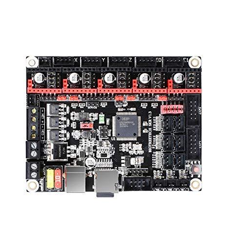 LiangDa Carte contrôleur V1.3 pour imprimante 3D + 5 pilotes de moteur pas à pas TMC2130, Noir , Taille unique