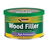 Everbuild 2 Part High Performance Wood Filler, Medium Stainable, 500 g