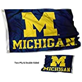 College Flags & Banners Co. Michigan Wolverines Double Sided Flag