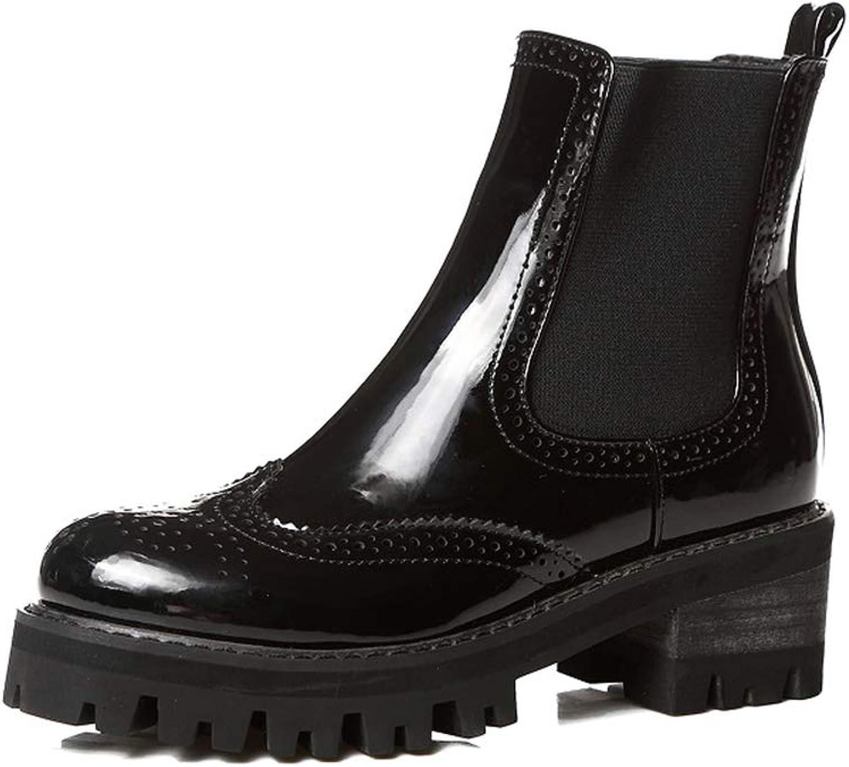Bon Soir Women's Low Heel Ankle Bootie Casual Flat http   www.yuntai001.top 1219chelsea