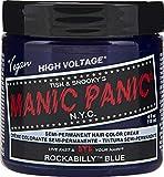 Manic Panic - Rockabilly Blue Classic Creme Vegan Cruelty Free Semi-Permanent Hair Colour 118ml