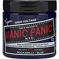 Manic Panic Rockabilly Blue Hair Dye – Classic High Voltage