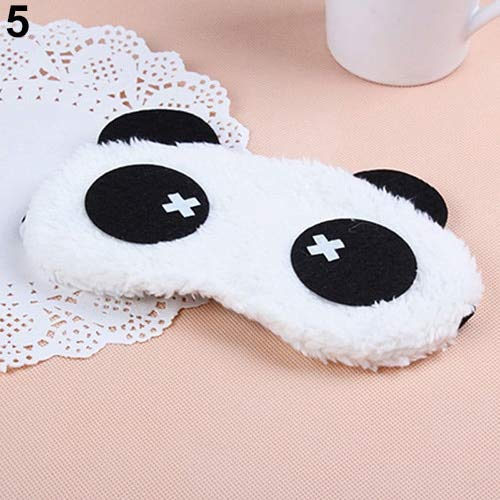 3D Soft Eye Sleep Mask Padded Shade Cover Rest Travel Relax Sleeping Blindfold Cute Patterns Cartoon High Quality 05