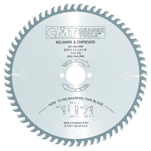 CMT Orange Tools 281,064,09 scie circulaire 220 m x 30 x 3,2 z 64 tcg