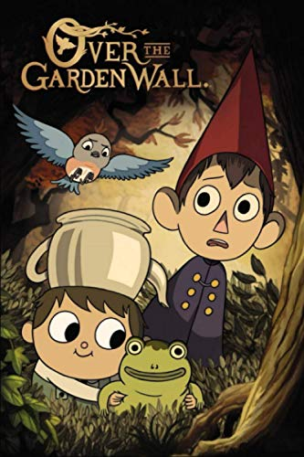 "Over the Garden Wall: 100 Blank Pages, White Paper 6"" x 9"", Journal Notebook For Kids, Girls, Teens, Perfect For Writing, Drawing, Doodling or Sketching, (Journals for Kids Ages 4-8)"