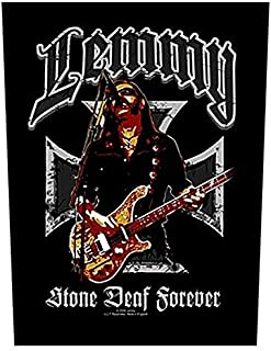 Lemmy Stone Deaf Forever backpatch