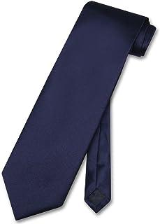 کراوات گردن مردانه Vesuvio Napoli Solid NAVY BLUE