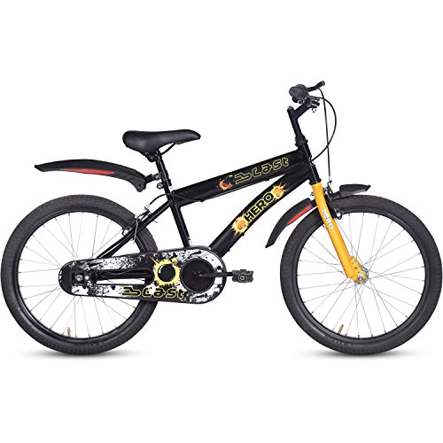 Hero Blast 20T Single Speed Cycle For Unisex-Youth Kids' Bike Ideal For 7 to 9 Years Frame size: 12 Inches (Multicolour)