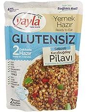 250 Gr Yayla Glutensiz Sebzeli Karabuğday Pilavı
