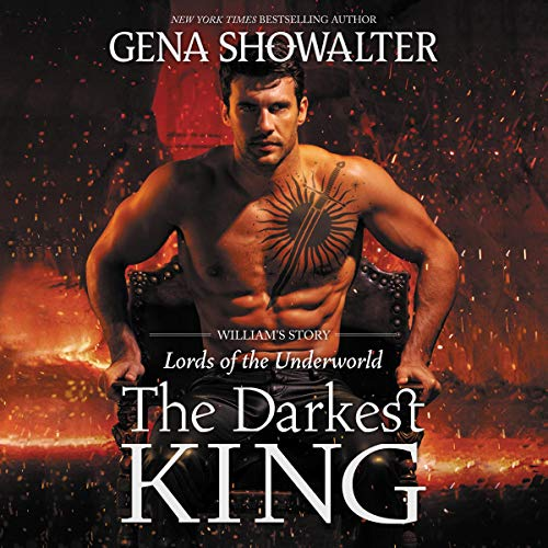 The Darkest King audiobook cover art