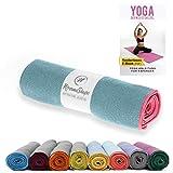 NirvanaShape® Non-slip yoga towel | Hot yoga towel with non-slip beads | Hygienic
