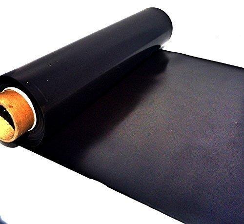 Eisenfolie - Ferrofolie 310mm x 500mm x 0,4mm nicht selbstklebend - Haftgrund für Magnete - Magnetfolie