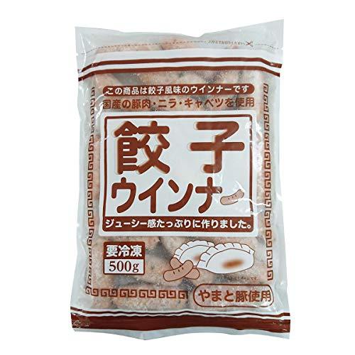 ダイワフーズ 餃子ウインナー 500g×20 ウインナー 冷凍 ポーク ソーセージ 国産 神奈川