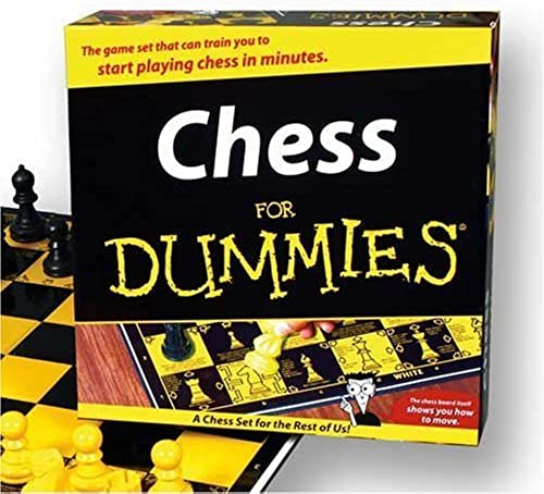 Chess For Dummies Game by TDC Games - DROPSHIP