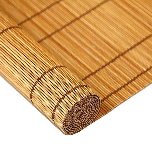 LY88 Tende di bambù Tende a Rullo Tende a Rullo Tende a Rullo per Finestra, Tende avvolgibili Verticali filtranti a Luce di bambù, Tende Semi-Privacy