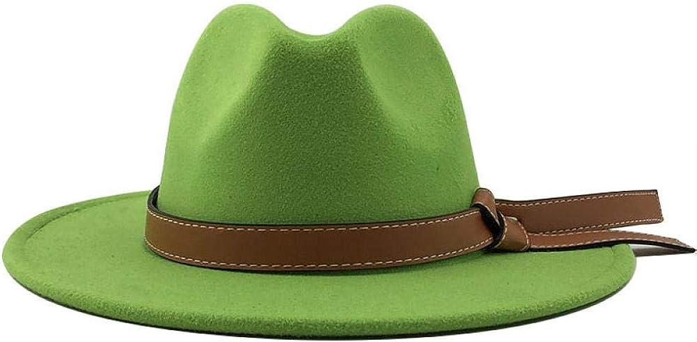 Sun Hats Autumn Winter Wool Men's Fedoras Women's Felt hat Ladies Sombrero Male Bowler hat Outdoor Hats
