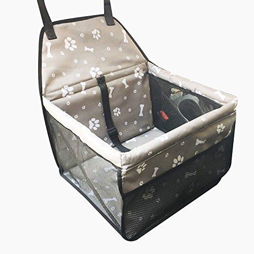 Lazzykit Waschbar Autoschondecke Pfotenabdruck Knochen Drucken Wasserdicht Sofaauflage Auto Hundeschutzdecke Rutschfest Sofaschutz
