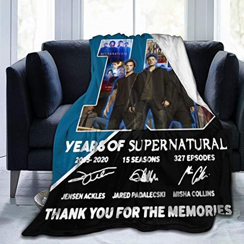 supernatural merchandise blanket - 7